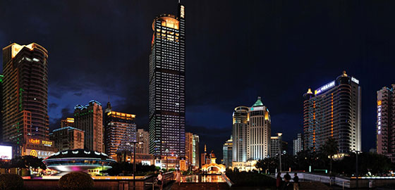 南宁市民族大道美化亮化工程规划与详细设计